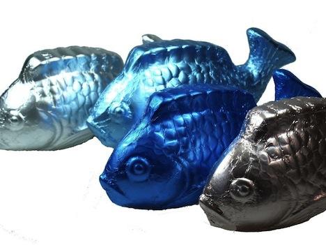 Petit Mues Fische Stanniol