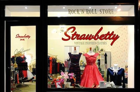 Strawbetty Rock`n`Roll Store Shop Berlin 1