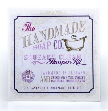 The Handmade Soap Company Pamper Kit geschlossen