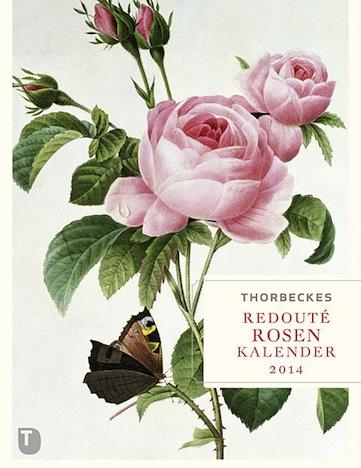 Thorbeckes Redouté-Rosen Kalender 2014