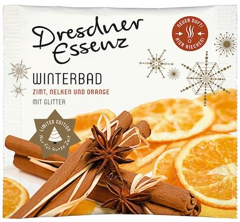 Tuete Winterbad Zimt, Nelken und Orange - mit Glitter