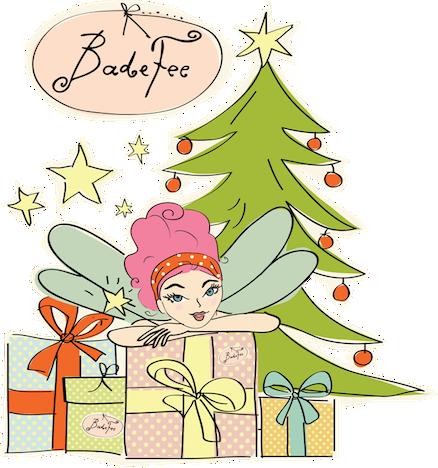 christmas badefee - klein