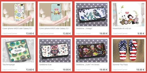 de.dawanda.com:shop:CopyCornerCarmen DaWanda Shop