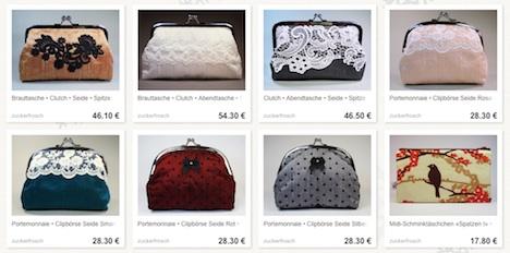 de.dawanda.com:shop:zuckerfrosch Zuckerfrosch DaWanda Shop Onlineshop