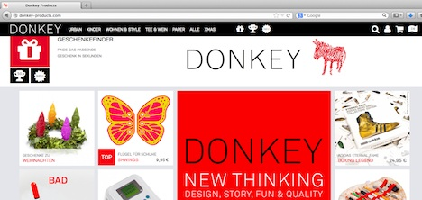 donkey-products.com Donkey Products Homepage Onlineshop