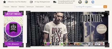 thefistshop.com Norvine
