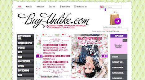 www.buy-unlike.com Buy Unlike Onlineshop
