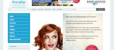 www.diebadewanneberlin.de Badewanne Berlin Homepage Onlineshop