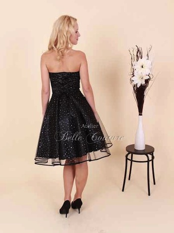 Atelier Bell Couture Glitter Kleid Petticoat