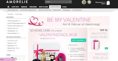 amorelie.de onlineshop valentinstag