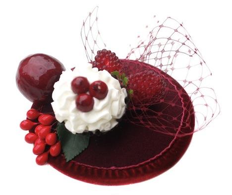 Jazzafine Naschkatze Cupcake Fascinator 2