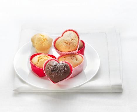 RBV Birkmann Muffins Formen Silikon Herz 1