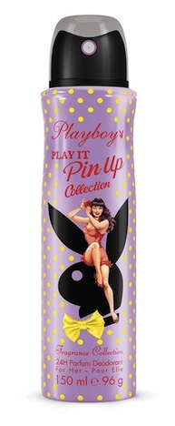 ctpl03.4b playboy play it pin up deodorant body spray