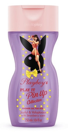 ctpl03.6b playboy play it pin-up shower gel