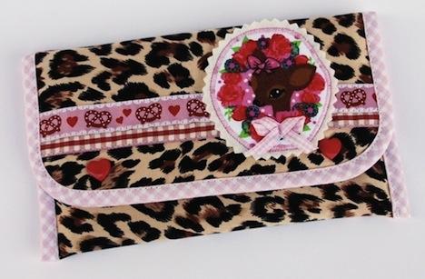 fuers herz dawanda shop mitnehm tascherl reh leopard