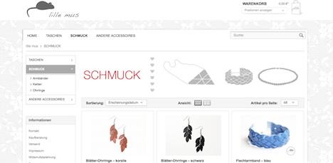 lille mus Homepage Schmuck
