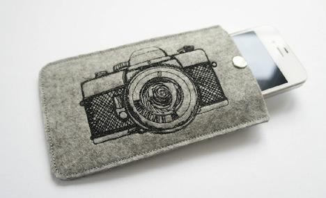 millibelle handy huelle mit verschluss kamera