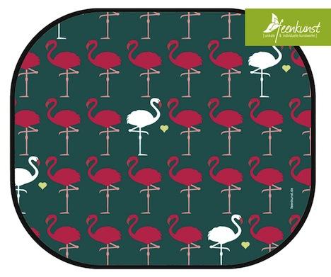Flamingo Autosonnenschutz Feenkunst