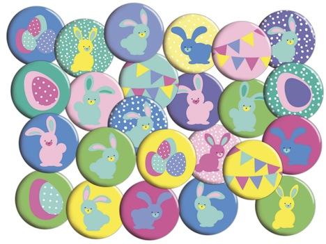 Lotterleben Wundertuete Pins Anstecker Ostern