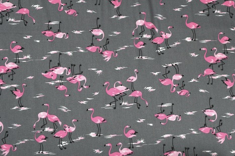 treuepfand DIY Kokka Flamingos Stoff