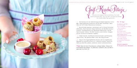 Feine Kuchenpralinen - Suesse Backideen für kleine Guglhupfe Seite 20 +21 Gugl Kirsche Pistazie