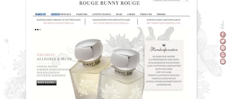 Rouge Bunny Rouge Homepage