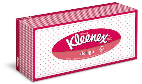 Kleenex Design Pink Retro