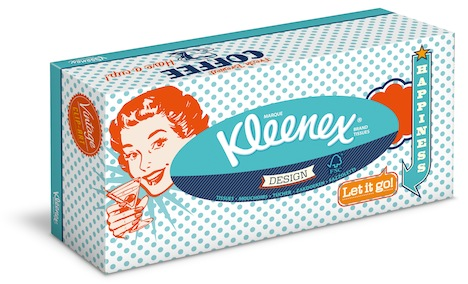 Kleenex Design Retro