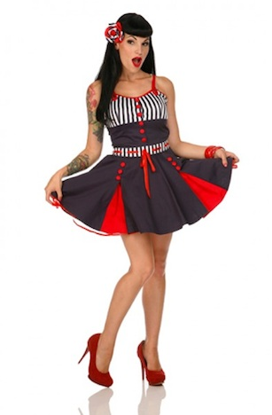 Buy Unlike Sailor Girl Kleid  Voodoo Vixen