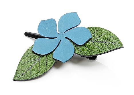 Dolly Martin Frangipani Leather Haarclip FC-00.00.10