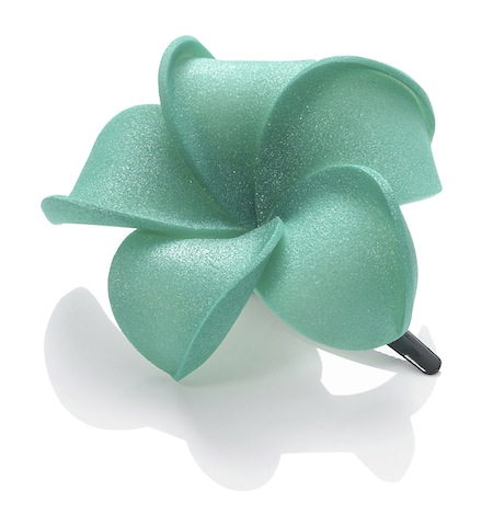 Dolly Martin frangipani_hairclip_basic_m_green_basic.m-00.00.08