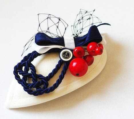 Jazzafine Headpiece Sailor Maritimes Troepfchen
