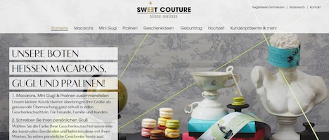 sweet couture Homepage sweetcouture.de