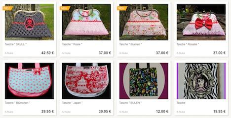 A*Nuke Tasche Skulls Roses Musthave der Woche Gewinnspiel Pinup-Fashion-Magazin
