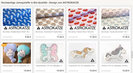 Astrokatze DaWanda-Shop Onlineshop Musthave der Woche Pinup-Fashion-Magazin