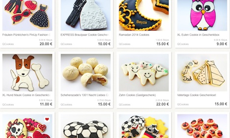 Queens and Cookies DaWanda-Shop Onlineshop