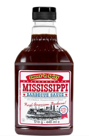MISSISSIPPI Barbecue Sauce Sweet 'n Spicy Soße Butlers  BBQ Musthaves Pinup-Fashion-Magazin