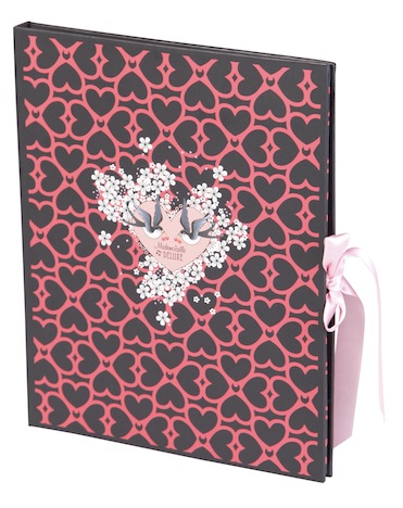 Pussy Deluxe Briefpapier Mademoiselle Deluxe Clairefontaine 313347C_fac