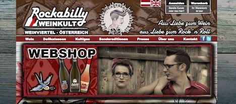 Rockabilly Weinkult Onlineshop www.rockabilly-weinkult.at Interview Pinup-Fashion-Magazin