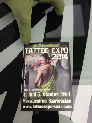 Buy Unlike Tattoo Expo 2014 Flyer