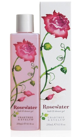Crabtree & Evelyn Rosewater bath & shower gel 79515~nocolor Rosige Beauty Highlights Pinup-Fashion-Magazin