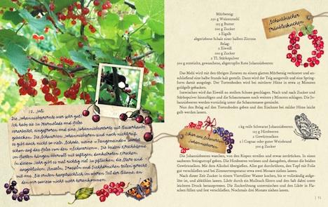 Gartenglueck und Sommerzauber – Mein wunderbares Gartenlesebuch Seite 70+71 arsEdition