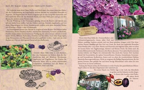 Gartenglueck und Sommerzauber – Mein wunderbares Gartenlesebuch Seite 84+85 arsEdition