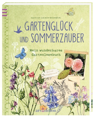 Gartenglueck und Sommerzauber ars edition Verlag Gartenparty Inspirationen Pinup-Fashion-Magazin