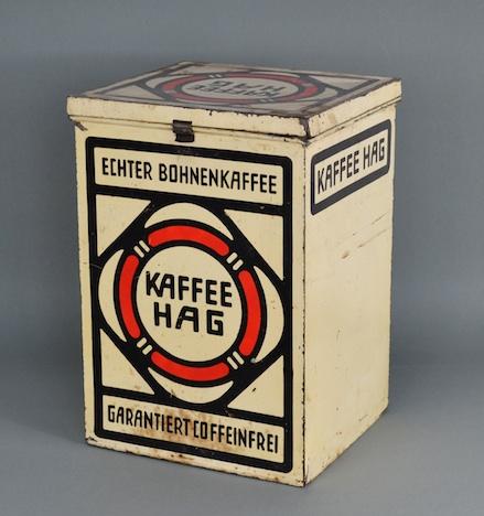 Kaffee Hag-Dose Broehan Museum Berlin Dauerausstellung