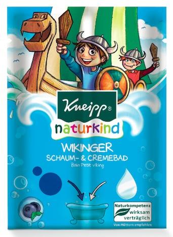 Kneipp naturkind Schaum- & Cremebad Wikinger