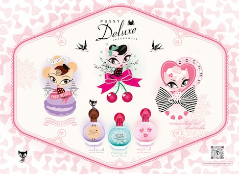 Pussy Deluxe Trilogy Key Visual horizontal Eau de Parfum