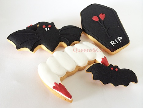 Queens and Cookies Draculas Folterkammer Kekse Cookies Sweet Halloween