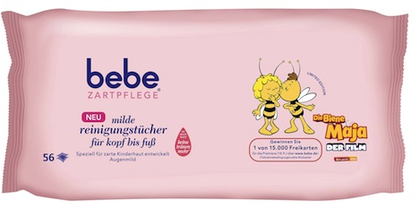bebe_Zartpflege_Design_Edition_Biene_Maja_Tuecher_56er