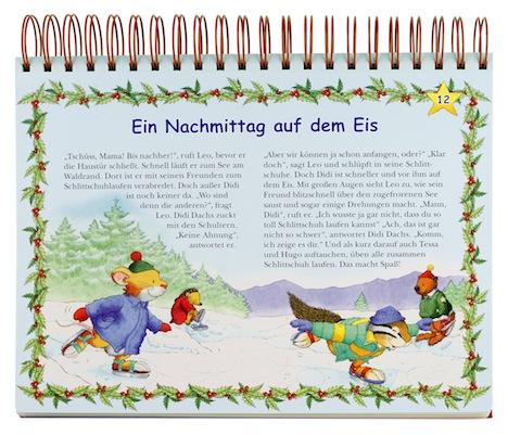 049821 Durch den Advent mit Leo Lausemaus Adventsaufsteller Innen Lingen Verlag